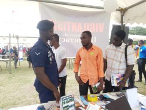 Police educate the youth on Police activities  – Ghana Police Service